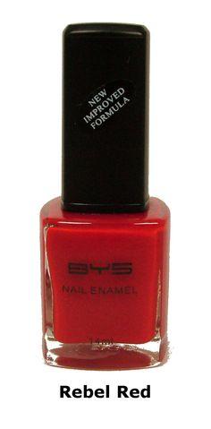 BYS Nail Polish Rebel Red