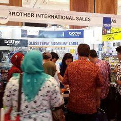 Kunjungi hari terakhir Pameran Kelistrikan Indonesia 2014 di JCC & mampir ke booth Printer Label Brother A9