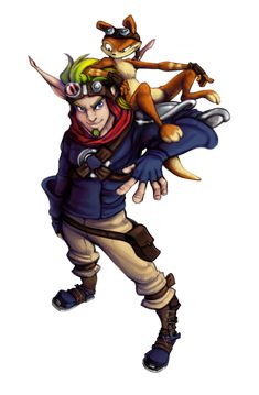 I keepz finding a lot of really cool Jak and Daxter art that I've never seen before ouo -Will