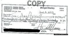 Oil Tycoon Harold Hamm's Ex Rejects Crazy $975 Million Settlement Check! - Ex wife, Harold Hamm, News, Oil Tycoon, Rejects Million dollar Check