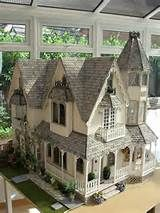 Amazing Vintage Doll House. Full-Sized