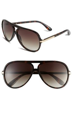 Marc by Marc Jacobs Aviator Sunglasses $110