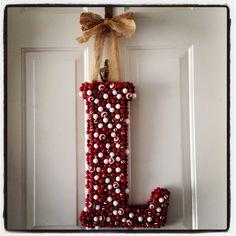 'Tis the Season! Our Holiday door decor