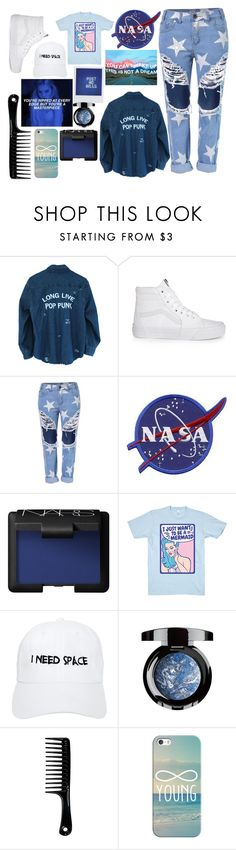 """you've ripped at every edge but you're a masterpiece"" by april-diamond ❤ liked on Polyvore featuring Vans, NARS Cosmetics, Nasaseasons, Polaroid and Casetify"