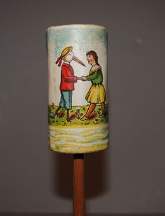 Stunning RARE Paper Litho Toy Rattle Germany Late 19th Century Works | eBay