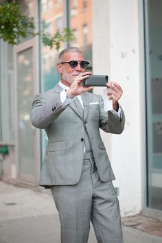 NEW YORK WEEKS SNAP: NICK WOOSTER | Fashionsnap.com