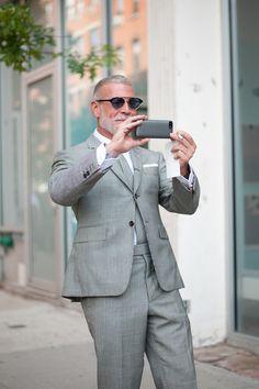 NEW YORK WEEKS SNAP: NICK WOOSTER   Fashionsnap.com