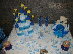 decoração de mesa chá de bêbe