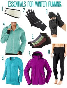 Essential Gear For Winter Running (from a Chicago runner who hates the cold!)