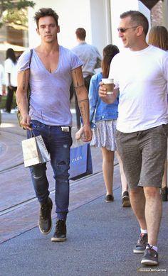 Jonathan Rhys Meyers #jonathanrhysmeyers #jrm The Grove Hollywood Sep 05 2014