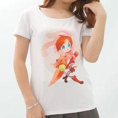 XS-3XL [Princess-misery Design] Usagi Eren with Carrot T-shirt SP152093