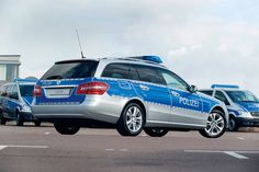 Mercedes E-Klasse Polizei