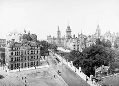 View of Wellington Street, showing the Post Office, Parliament Buildings and Lockmaster's House, Ottawa, Ontario  Source: http://collectionscanada.gc.ca/pam_archives/index.php?fuseaction=genitem.displayItem&lang=eng&rec_nbr=3358807&rec_nbr_list=99410,105473,7878,4140227,4127120,4138591,2895445,2837302,2928485,3394423,2896981,283