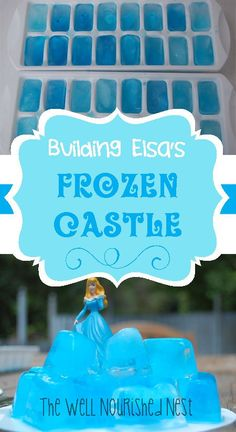 Activities for Toddlers - Building Elsa's Frozen Castle - The Well Nourished Nest