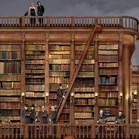 Bibliothèques idéales Jean Francois Rauzier Hyperphoto