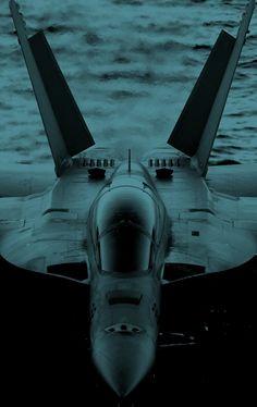 bandssky:  The blue F-18