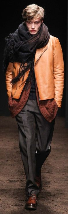 Salvatore Ferragamo Fall 2015 | Men's Fashion | Menswear | Moda Masculina | Shop at designerclothingfans.com