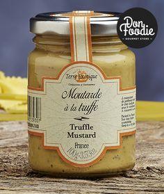 Mostaza de Dijon con trufa Terre Exotique #productos #calidad #comida #food #gourmet #healthy #salsas  #sabor #flavour #especias #alimentacion #foodies
