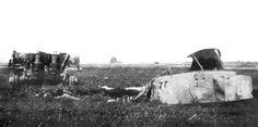 Wrak czołgu Michaela Wittmanna