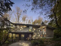 Seidenberg House, Pennsylvania by Metcalfe Architecture & Design
