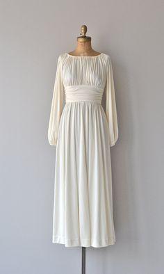 Ismene vintage 1970s dress