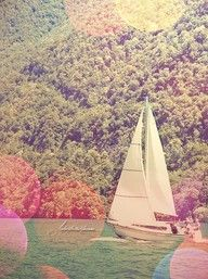 I'd love to go sailing on our honeymoon