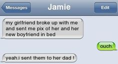 Text Message - Awesome revenge