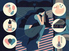 The Secret To Sleep by Owen Davey #Design Popular #Dribbble #shots