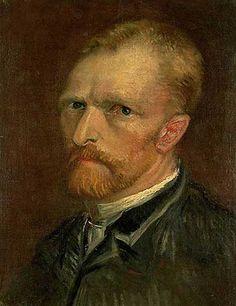 Vincent Van Gogh - Self portrait, 1886 - jetzt bestellen auf kunst-fuer-alle.de