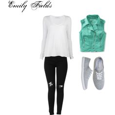 """Emily Fields-Pretty Little Liars"" by rebecca-fitzpatrick on Polyvore"