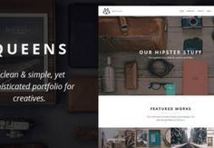 Queens v1.0 - Creative One-page Drupal Theme
