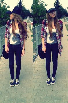cute outfit I need some Vans shoes
