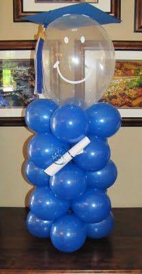 Fun balloon graduate