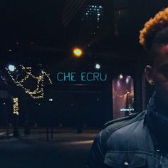 Stream R&B New Comer Che Ecru 'Low Tide' EP | WhyCauseICan.com
