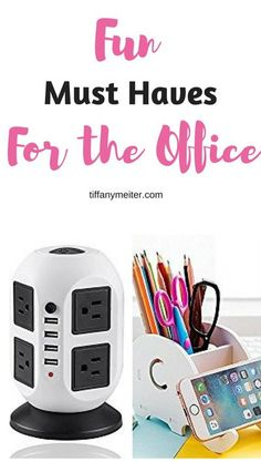 Check out some of these fun office supplies! Add a little fun to the workspace. Great gift ideas too! #office #giftideas #officesupplies #officefun #organization #organizing #organizationideas #organizationtips #organizing #homeorganization #tiffanymeiter #homehealthlife #organizeyourhouse #organizeyourlife #declutter #decluttering #declutteringtips #organizedhouse Home Office Accessories, Office Items, Gifts For Office, Cubicle Accessories, Office Gadgets, Office Spaces, Business Office Decor, Home Office Decor, Office Organization At Work