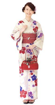 【特選浴衣】小袋帯3点set 24-OB14-HG607set | 浴衣屋さん.com 19,500 円