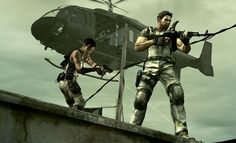 he biohazard threat has not ended: Just when it seemed that the menace of Resident Evil had been destroyed, along comes Resident Evil 5 on to send shivers down player's spines. Resident Evil 5, Xbox One, Videogames, Microsoft, The Last Of Us, Dead Rising, Evil Games, Devil May Cry 4, Xbox 360 Games