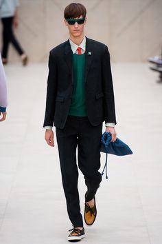 Burberry Prorsum Spring 2014 Menswear Collection.