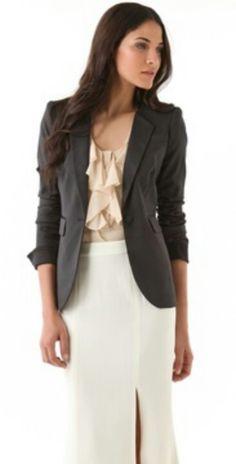 Tuxedo jacket/suit jacket layering