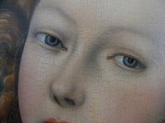 Lucas Cranach the Younger (1515–1586) - Lucretia, detail face, c. 1525