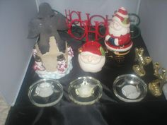 Christmas-candle-holder-lot-of-10