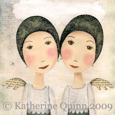 Thank you for taking a look at my work... Every girl needs a swimming cap and a pair of wings to make her way in life… That is what this