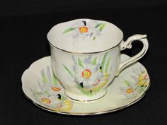 Lovely Royal Albert Narcissus Floral Crown China