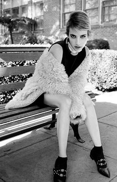 """ Emma Roberts for Flaunt Magazine (November 2014) """
