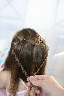 Girly Do's By Jenn: ♥ HEART ♥ Down Hair Style
