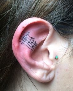 Music to the ear - Tattoo by Laz Barath