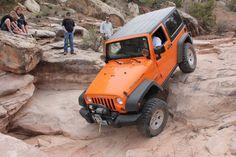 Moab 2014 Jeep Brand, 4x4 Off Road, Jeep Wrangler Rubicon, Orange Crush, Jeep Life, Jeeps, Offroad, Monster Trucks, Club