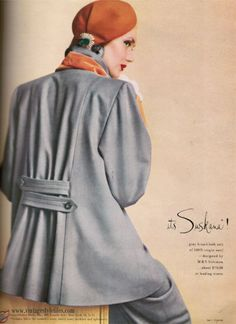 M & S Solomon broadcloth suit-1948. .....Uploaded By www.1stand2ndTimeAround.etsy.com