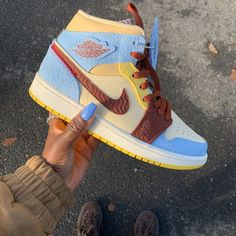 Jordan 1 Maison Château Rouge Shop it, we ship worldwide -> Sneakersfromfrance . Cute Sneakers, Sneakers Mode, Sneakers Fashion, Sneaker Shop, Nike Air Shoes, Nike Air Jordans, Pink Nike Shoes, Kd Shoes, Baby Jordans