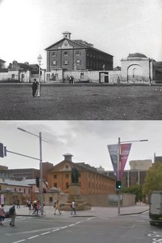 Sydney's Hyde Park Barracks - City of Sydney Image… Then And Now Pictures, Old Pictures, Old Photos, Architecture Old, Historical Architecture, Hyde Park Barracks, The Rocks Sydney, Phil Harvey, Sydney City